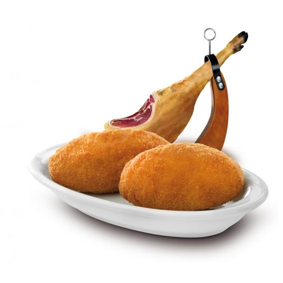 Croquetón de jamón ibérico