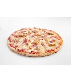Pizza atún y bacon