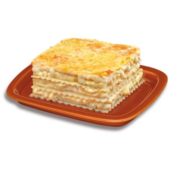 Lasaña 4 quesos