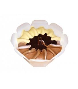 Tartaleta vainilla-chocolate