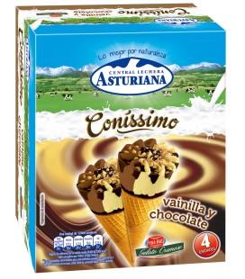 Cono vainilla / chocolate