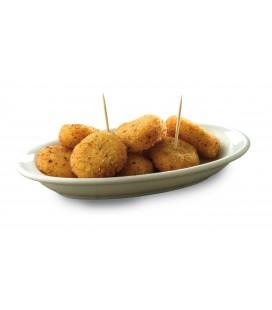 Minicroquetas de queso (mancheguitos ajillo)