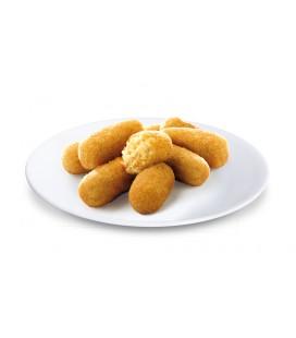 Croquetas de pollo asado al ast sin gluten