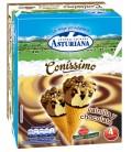 Cono vainilla/chocolate