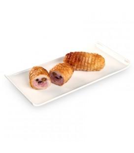 Muslo pollo relleno pasa, ciruela y pi¤on