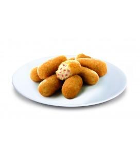 Croquetas de jamón sin gluten bolsa neutra