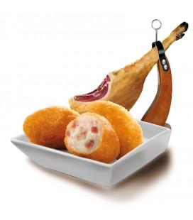 Croquetas de jamón ibérico